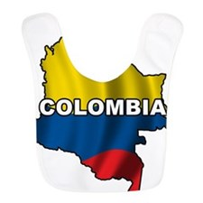 Map Of Colombia Bib