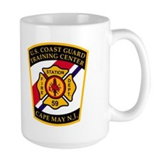 USCG Fire Station 59<BR> 15 Ounce Mug