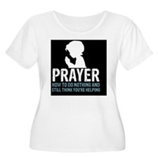 2-Prayer.squa T-Shirt