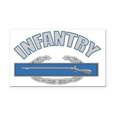 infantry_tshirt_v2 Rectangle Car Magnet