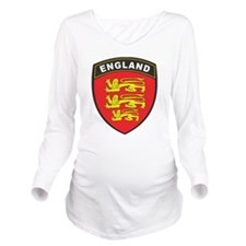 England Long Sleeve Maternity T-Shirt