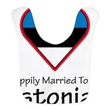 Happily Married Estonian Bib
