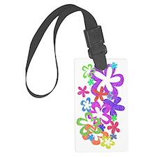 flowers-vert Luggage Tag