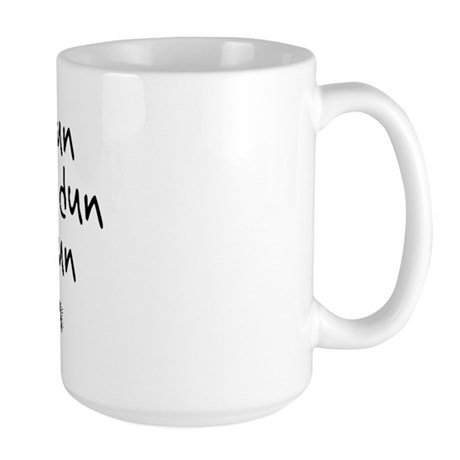 Smoke Water Script - Large Mug