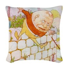 NURSERY humpty3_l Woven Throw Pillow