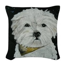 Mafoo movie 006 Woven Throw Pillow