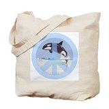 Orca Peace Tote Bag