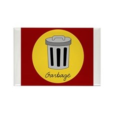 garbage Rectangle Magnet (10 pack)