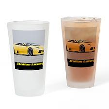 4-Lamborghini-Murcielago-Calendar Drinking Glass