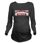 Honduras Native Long Sleeve Maternity T-Shirt