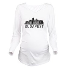 Budapest Long Sleeve Maternity T-Shirt