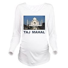 Taj Mahal Long Sleeve Maternity T-Shirt