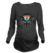 Stylish India Long Sleeve Maternity T-Shirt