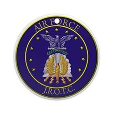 AFJROTC LOGO CIRCLE Round Ornament
