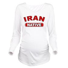 Iran Native Long Sleeve Maternity T-Shirt