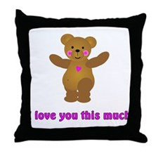 Scott Designs Throw Pillow