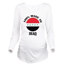 Made In Iraq Long Sleeve Maternity T-Shirt