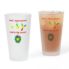 small improvement flower Drinking Glass