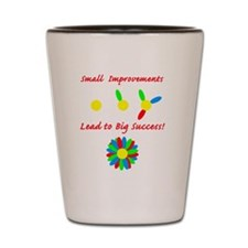 small improvement flower Shot Glass