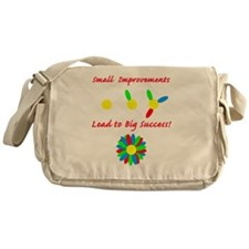 small improvement flower Messenger Bag