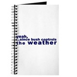 Bush Controls Weather Journal