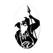 odin001 Oval Car Magnet