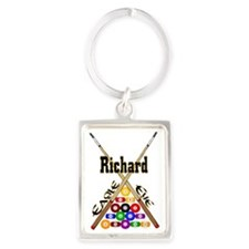 eagle_eye_richard Portrait Keychain