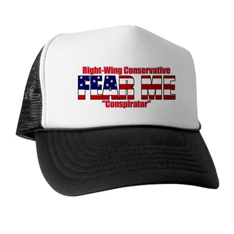 """Fear Me"" Right-Wing Conspirator Trucker Hat"