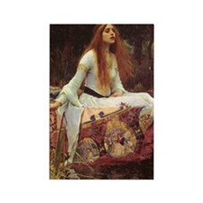 Lady of Shalott Journal Rectangle Magnet