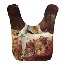 Lady of Shalott Keepsake Box Bib