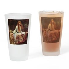 Lady of Shalott Keepsake Box Drinking Glass