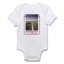 ORR Racin' Stripes Infant Bodysuit