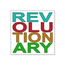 "REV MULTI Square Sticker 3"" x 3"""