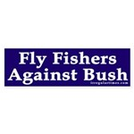 Fly Fishers Against Bush (sticker)