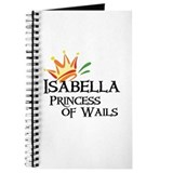 Isabella Princess of Wails Journal