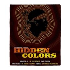 24x36_hiddencolorsposter Throw Blanket