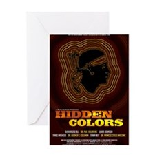 24x36_hiddencolorsposter Greeting Card