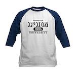 Pig University Kids Baseball Jersey