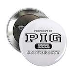 Pig University Button