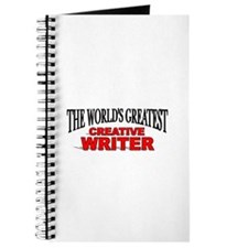 """The World's Greatest Creative Writer"" Journal"