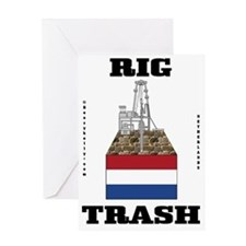 Netherlands Rig Trash 2a BC use A4 u Greeting Card