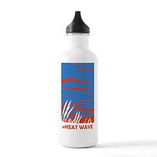 wheat-wave-vert-3 copy Water Bottle