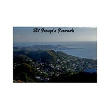 St Georges Grenada9x12 Rectangle Magnet