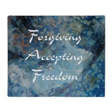 forgiving-accepting-freedom Throw Blanket