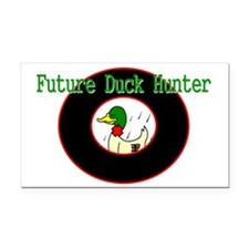 FUTURE DUCK HUNTER #49 Rectangle Car Magnet