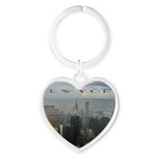 New York Heart Keychain