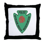 Spokane Tribal Police Throw Pillow