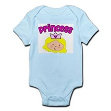 princess blonde Infant Bodysuit