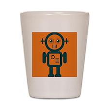 Robo Guy Shot Glass