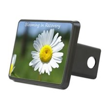 2-blooming in recovery Hitch Cover